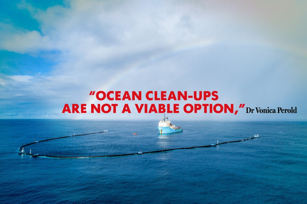 On the Edge of Change, Episode Five: Marine plastic pollution and the problem with ocean clean ups
