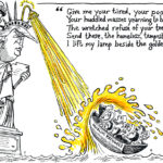 Golden Shower, Lady Liberty edition