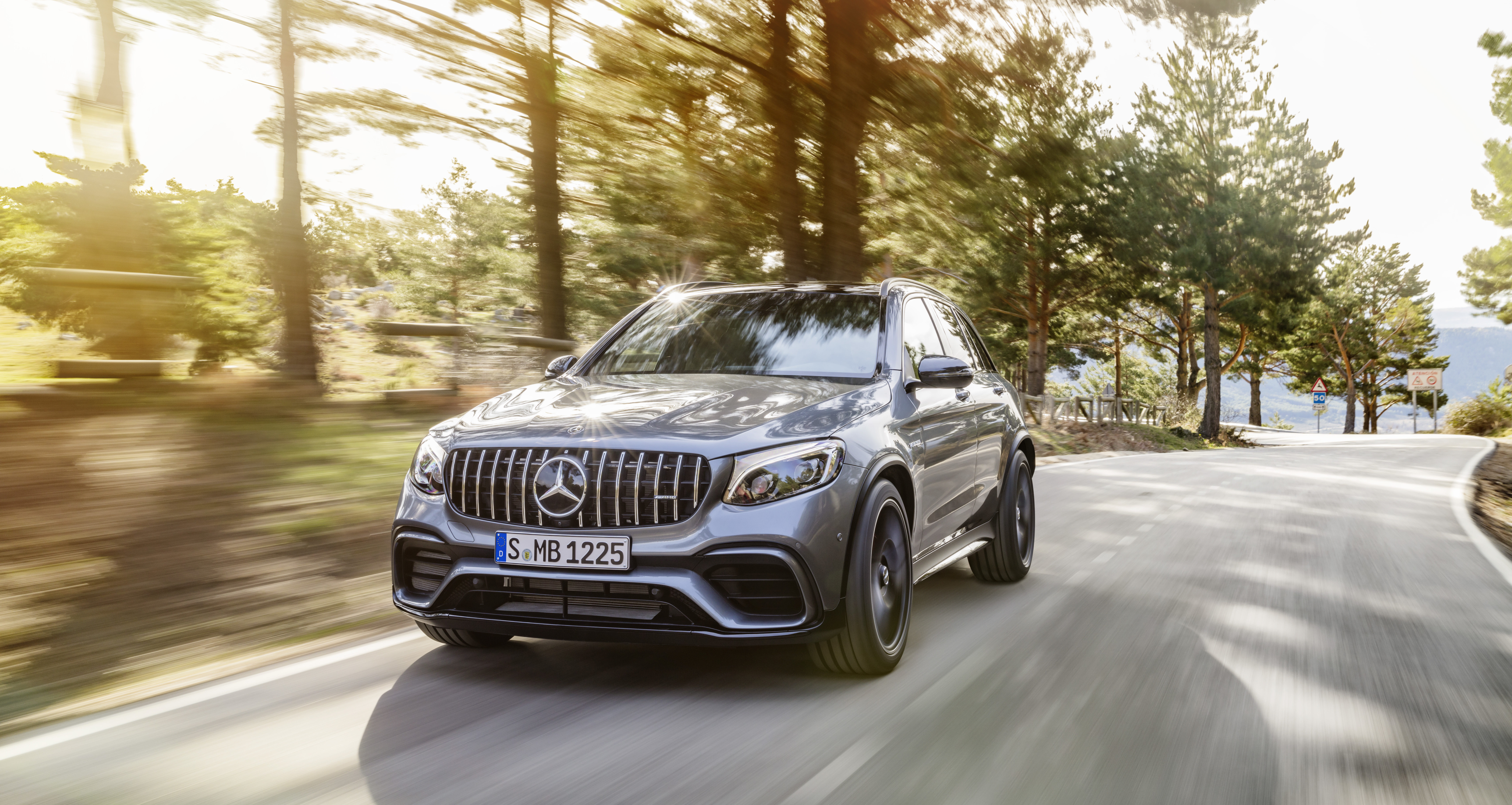 Mercedes-AMG GLC63 S: SUV with a supercar heart