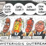 Mysteriosis outbreak