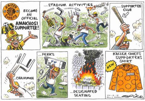 Zapiro: Amakhosi  Supporters Club