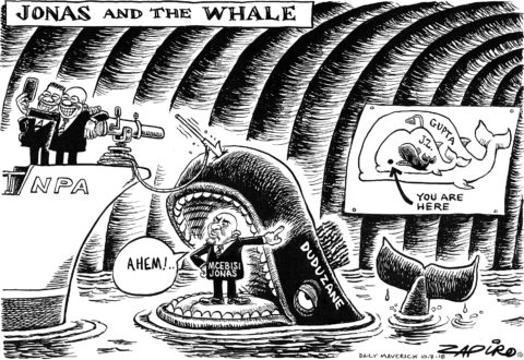 Zapiro: Jonas and the Whale