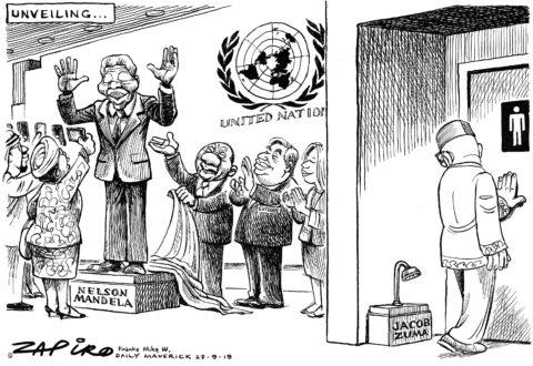 Zapiro: UN Unveiling