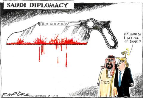 Zapiro: Saudi Diplomacy