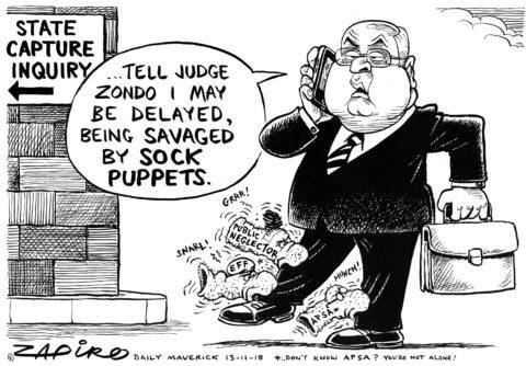 Zapiro: Pravin Delayed