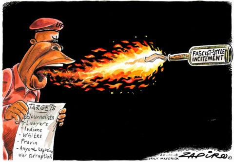 Zapiro: EFF Incendiary