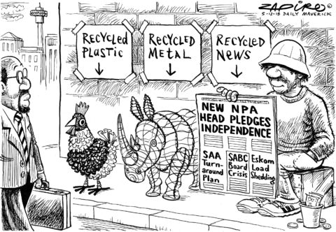 Zapiro: Recycled