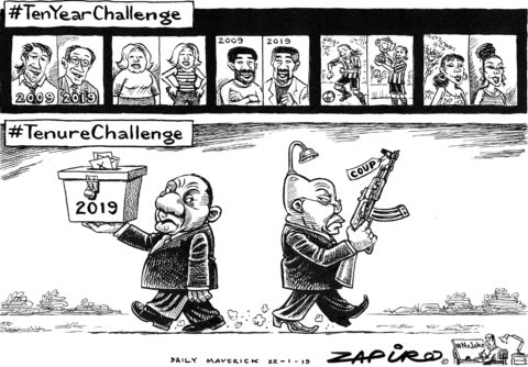 Zapiro: #10YearChallenge