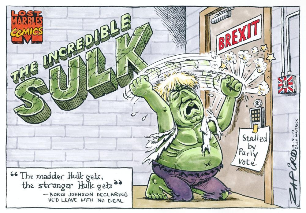 Boris Gets Mad