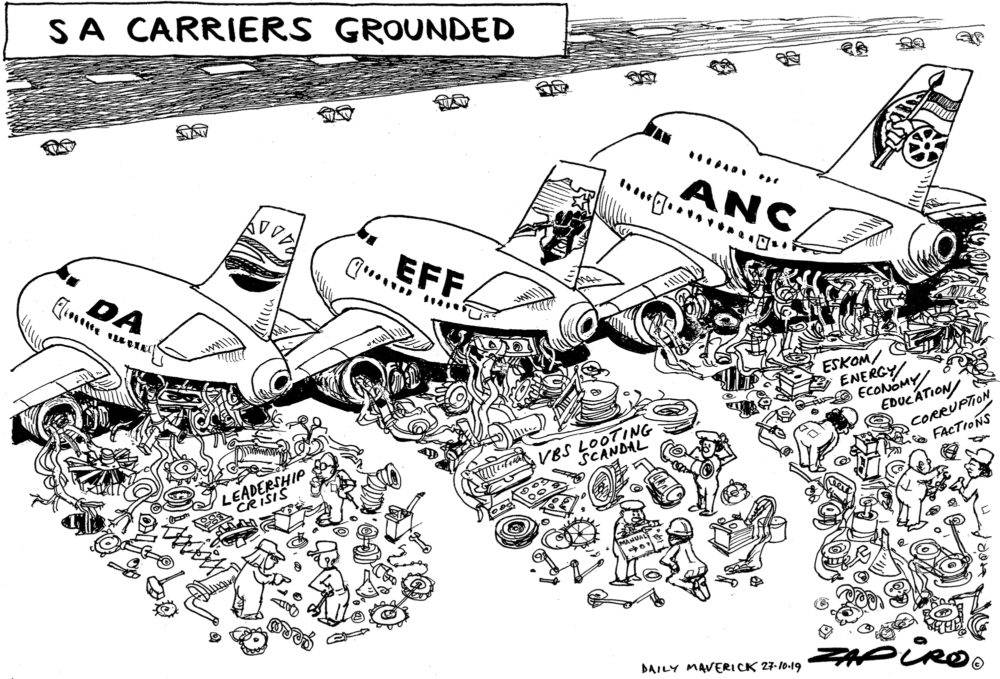 SA Carriers Grounded
