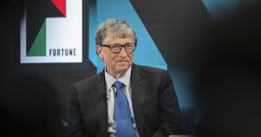 Gates Says Capital Gains Tax Best Way to Tap `Big Fortu...
