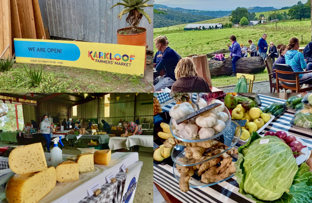 MIDLANDS RESILIENCE: Camembert and cabbages at Karkloof Farmers' Market