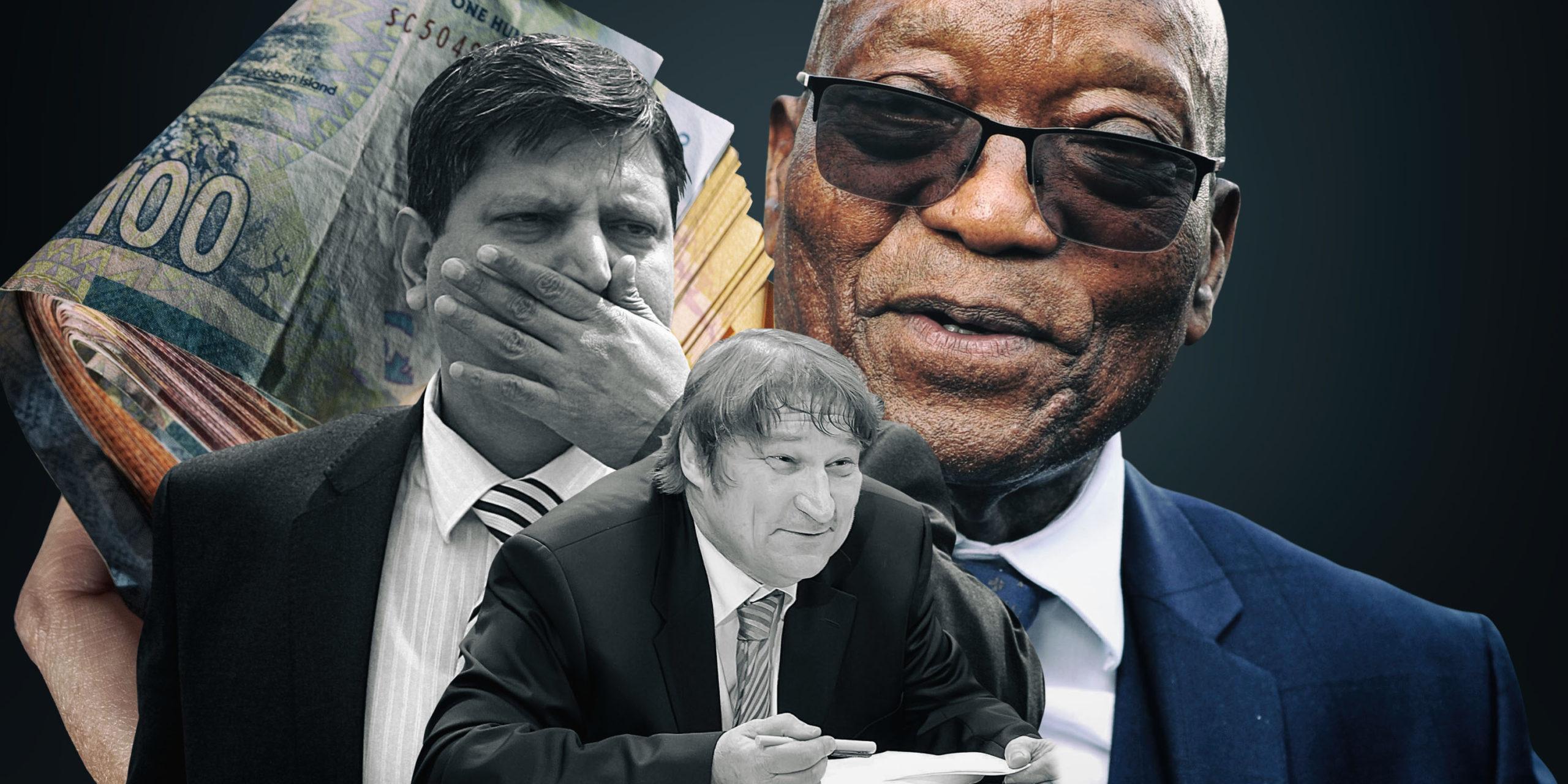 Gupta money was channelled along terrorist network –…