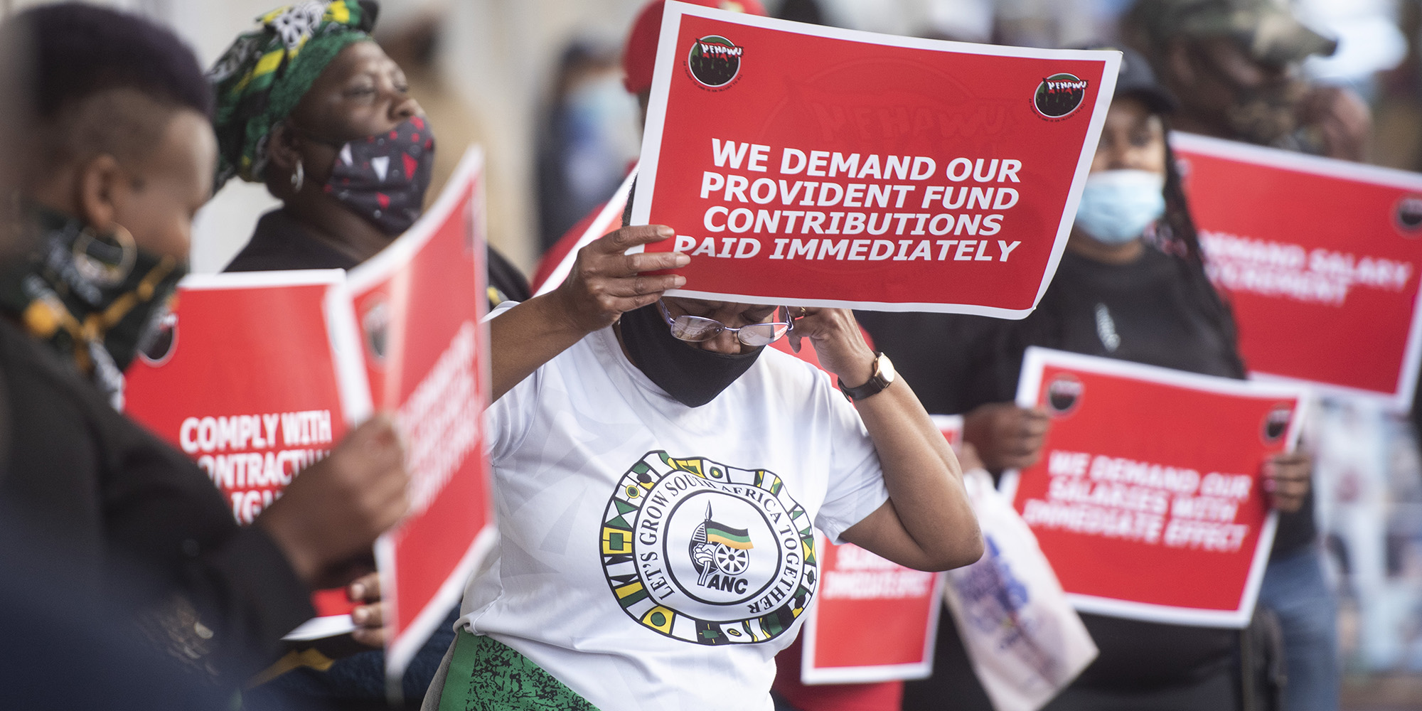 ANALYSIS: ANC staff picket for the first time since unbanning in 1990 as state reforms bite at party finances