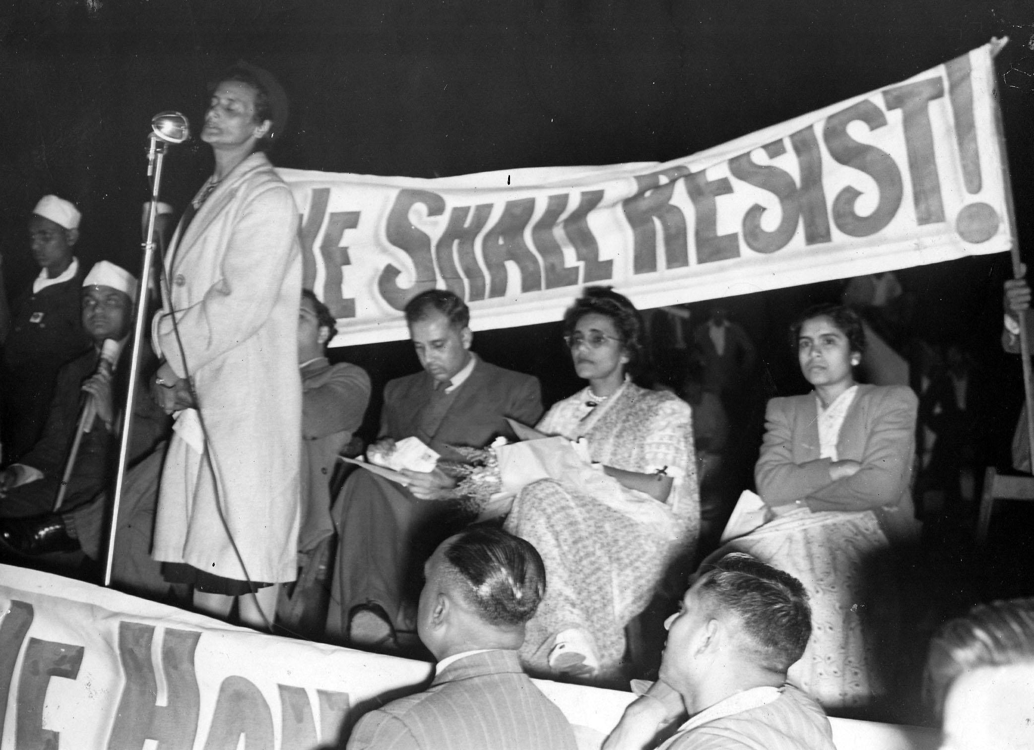 1946 Passive Resistance Campaign