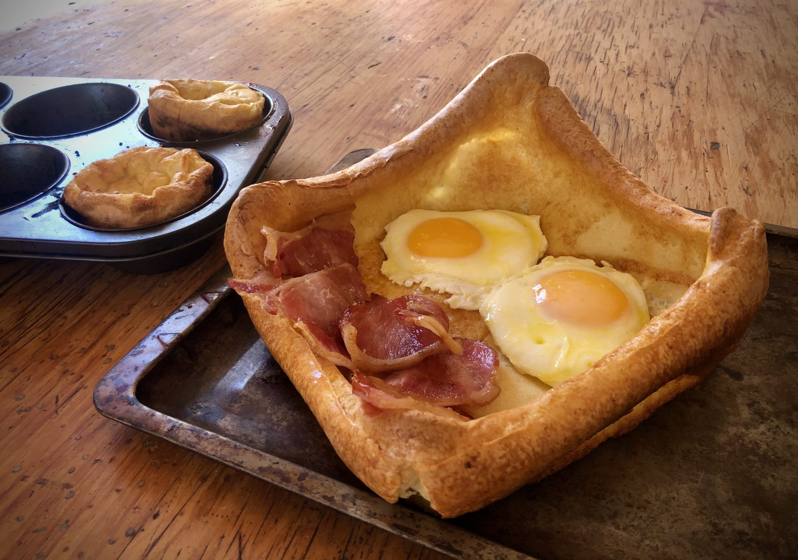 TGIFOOD: What's cooking today: Yorkshire pudding, breakfast style
