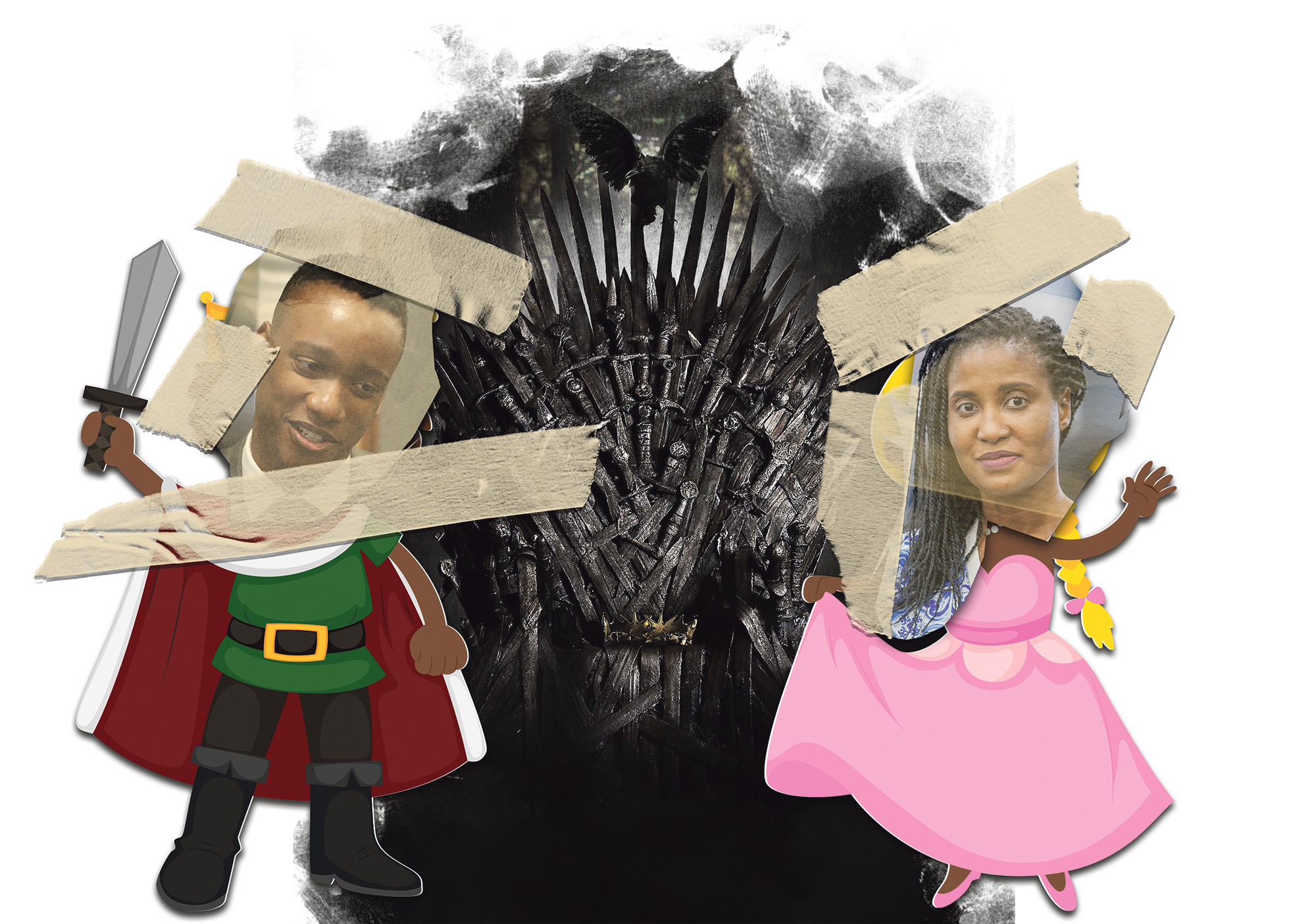 DM168 TONGUE IN CHEEK: World of Westeros: The Dudus' quest for the Iron Throne