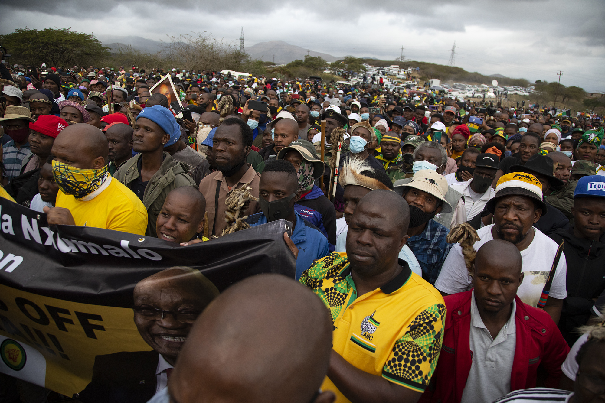 Zuma tells his supporters he's a prisoner of conscien...