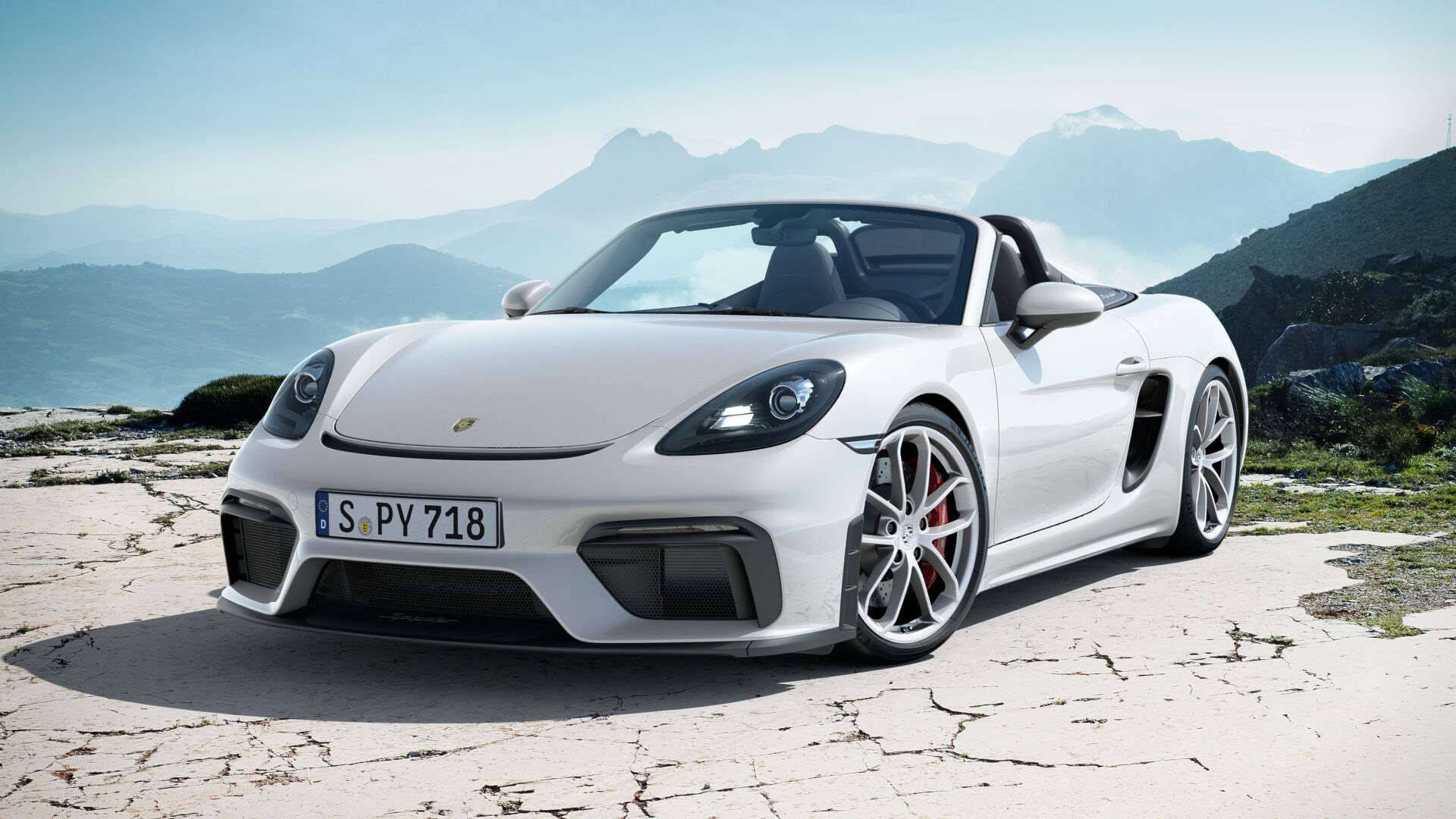 VROOM WITH A VIEW: The new Porsche Spyder floats like a butterfly – and stings like a bee