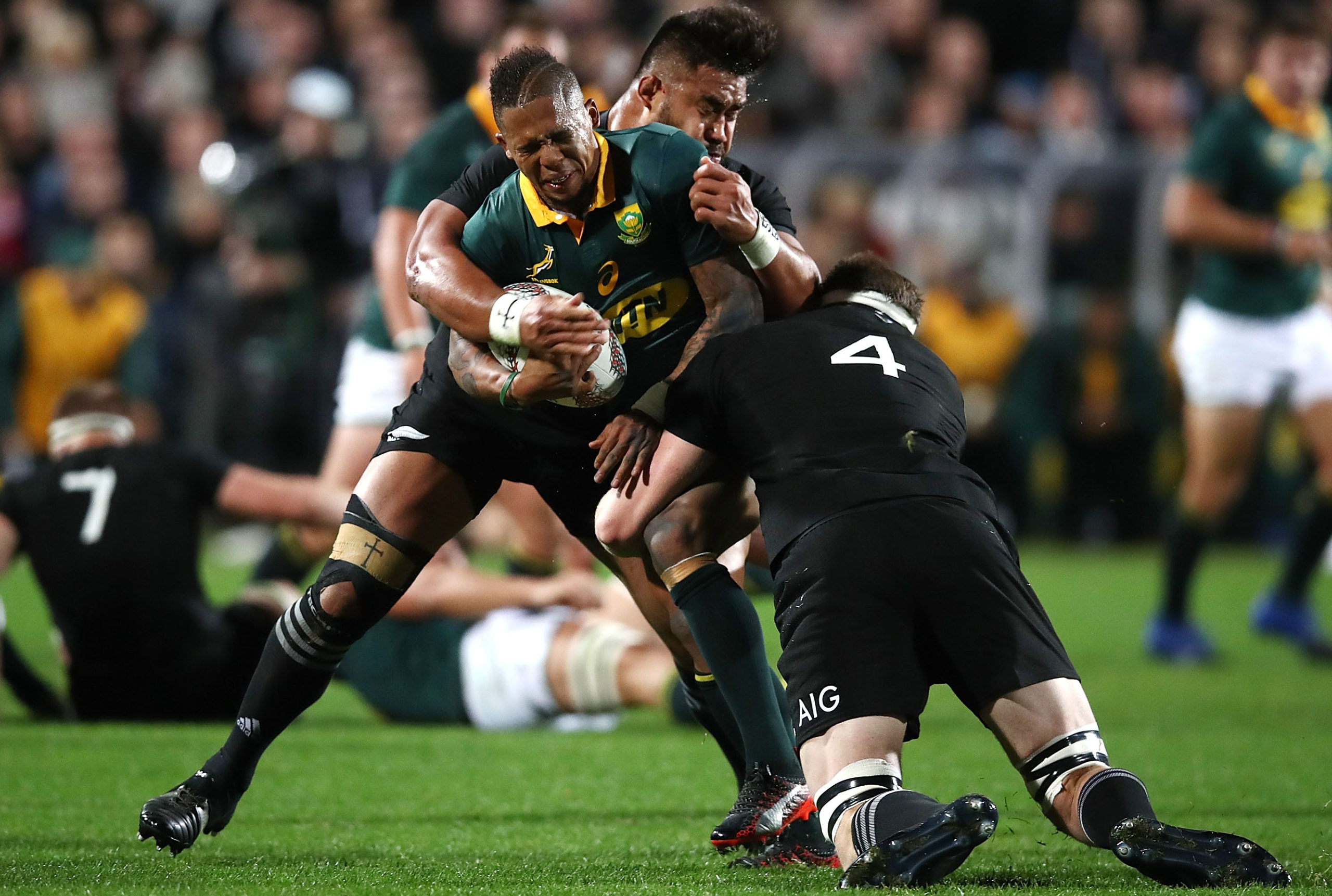 RUGBY: Bok bomb squad defused for 100th clash against All Blacks