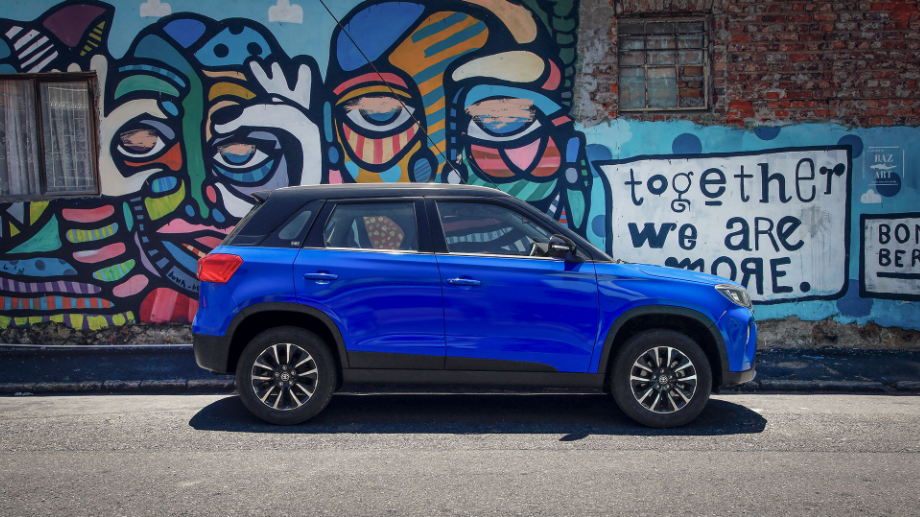VROOM WITH A VIEW: The Toyota Urban Cruiser is more of a city slicker than a happy camper