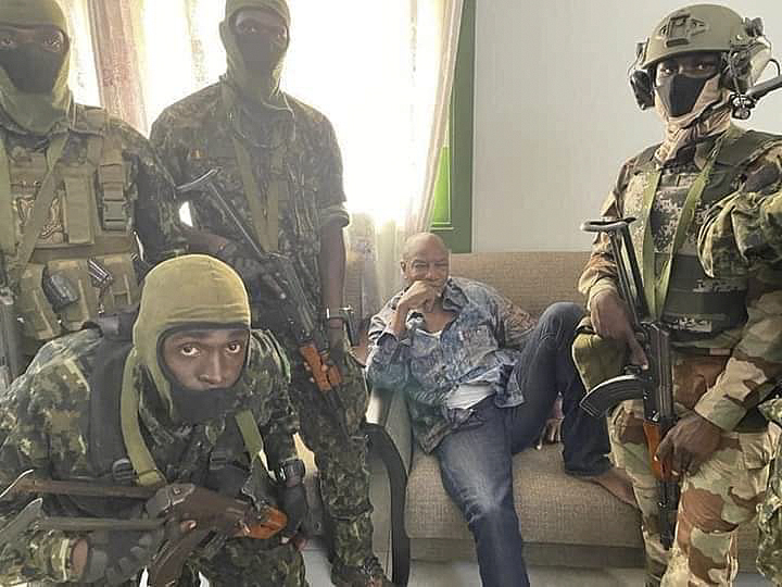 African Union condemns military takeover in Guinea
