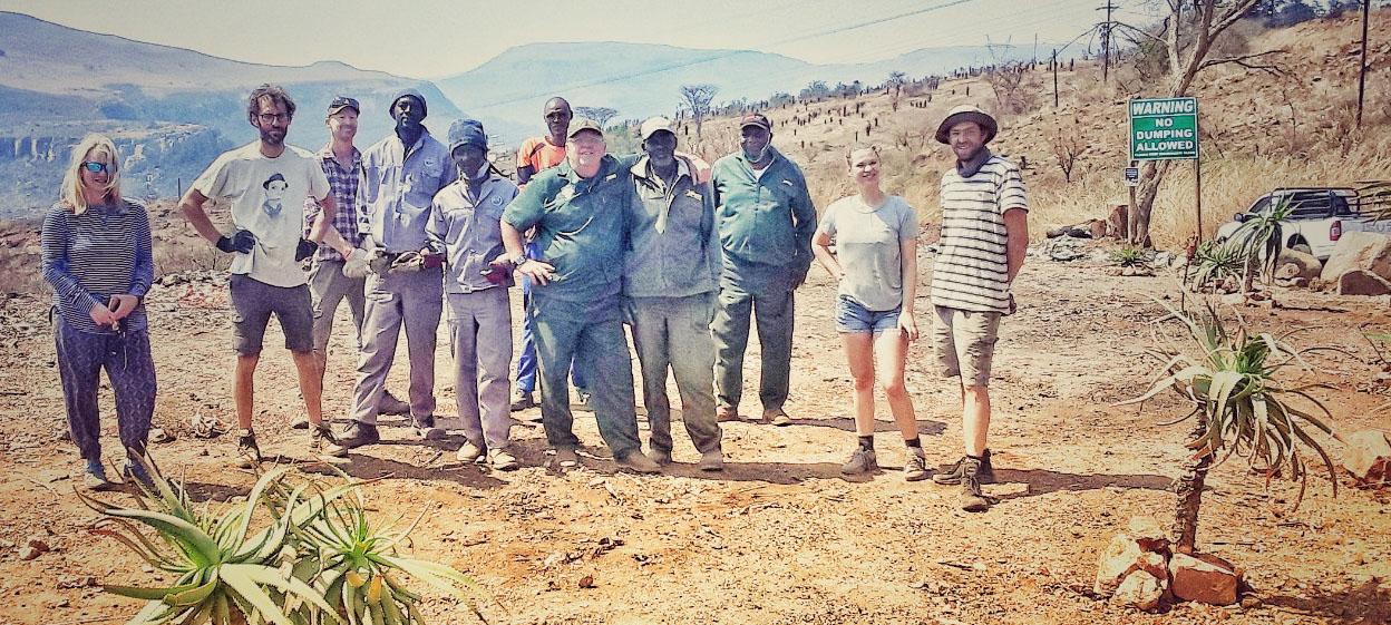 cleanup waterval-boven