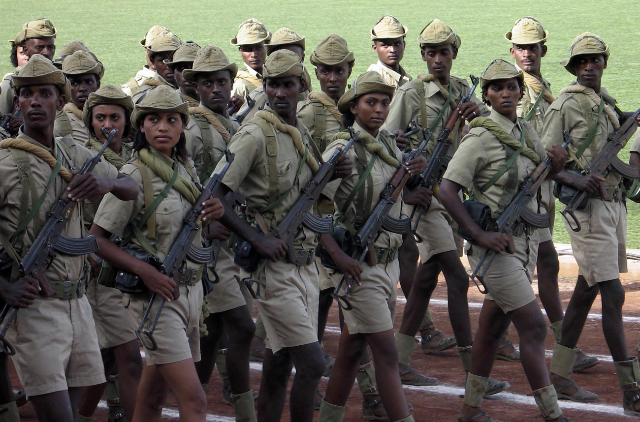 Ethiopia and Eritrea: brothers in arms