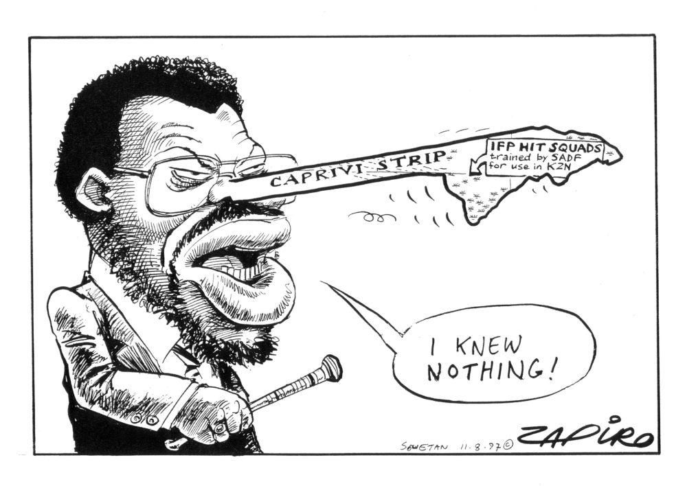 Mangosuthu Buthelezi deur die jare - soos gesien deur Zapiro - Daily Maverick