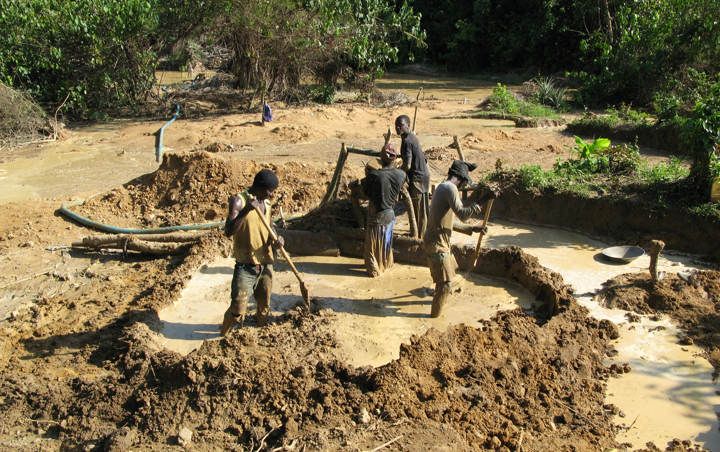 Special report: Illegal gold mining in Liberia