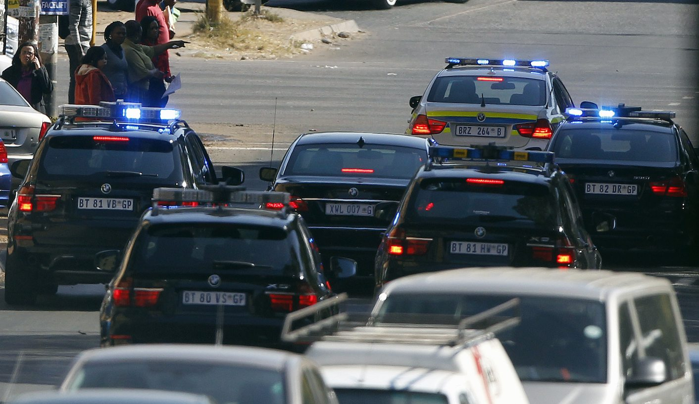 Blue Light Brigade: The president's bullies assault j...