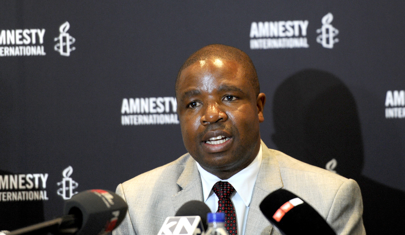 Amnesty International: Not a good time for human rights