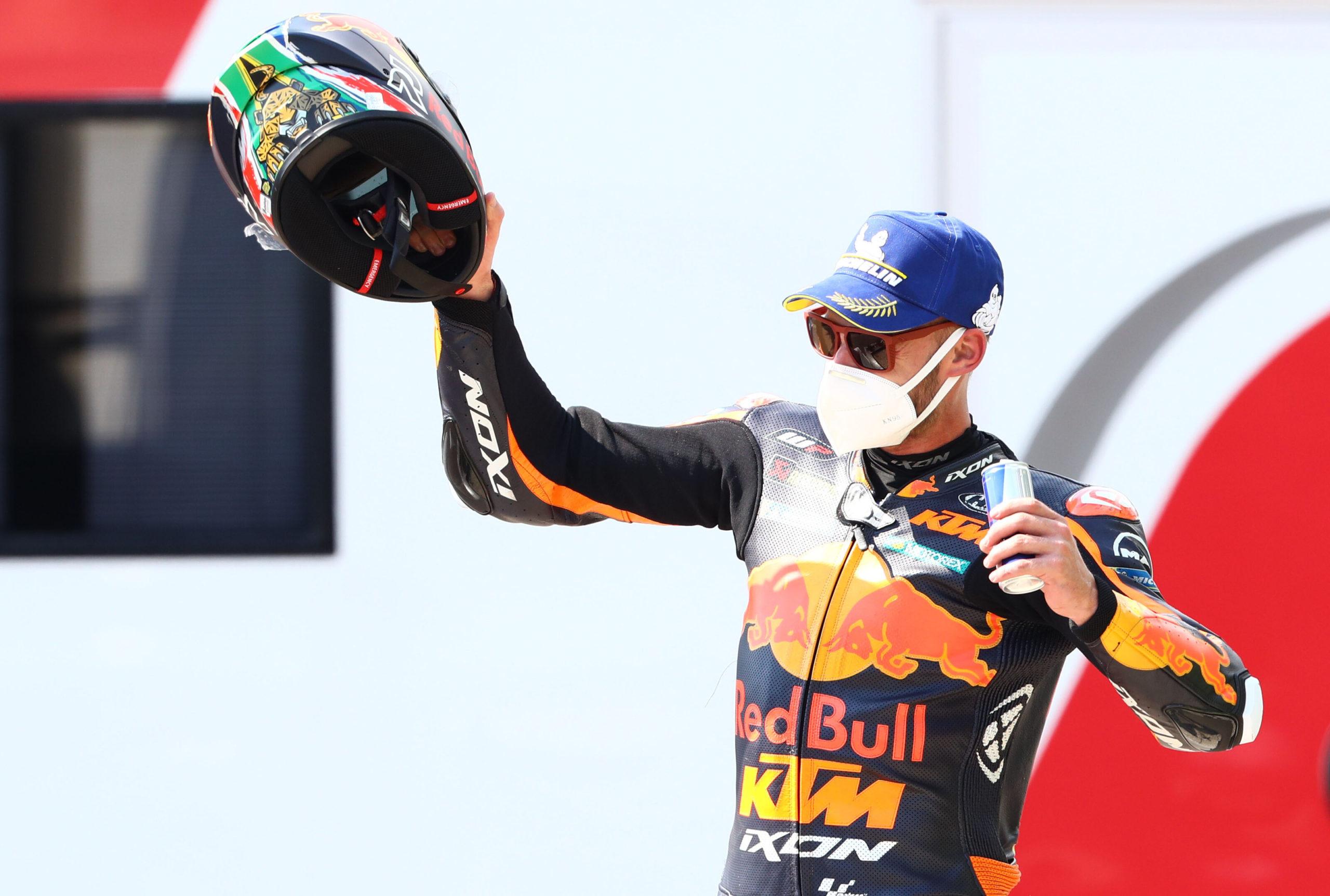 SA rookie Brad Binder stuns the world at Czech MotoGP - Daily Maverick