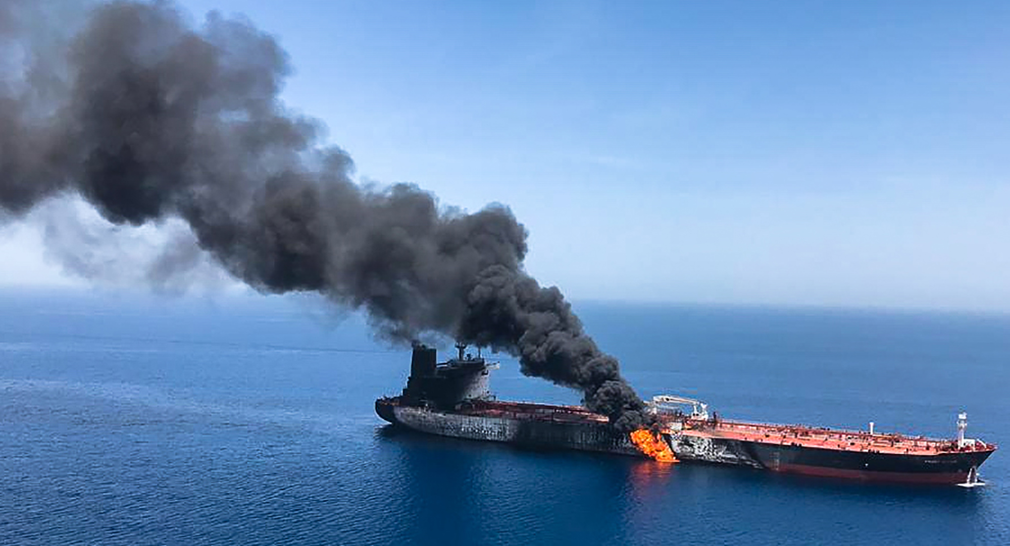 Just who is bombing oil tankers in the Strait of Hormuz