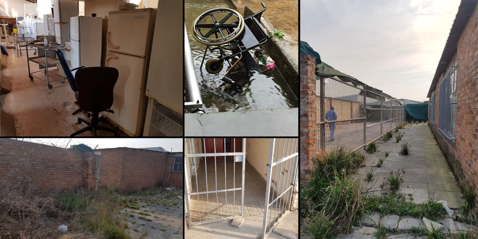 Image result for south african bad state hospitals