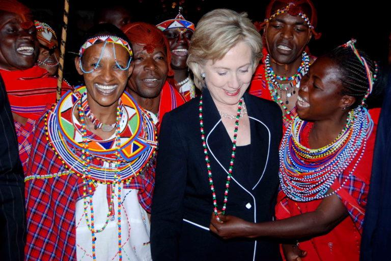 Ngoại trưởng Mỹ Hillary Rodham Clinton