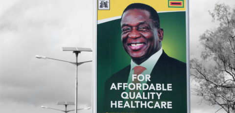 Zimbabwe Elections: In Harare, a ghost town welcomes news of President Mnangagwa