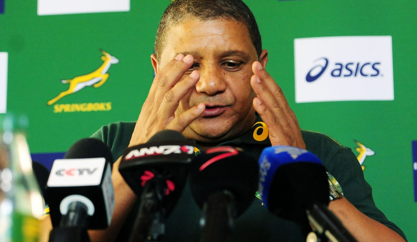 Allister Coetzee could be fired as Springbok coach by December