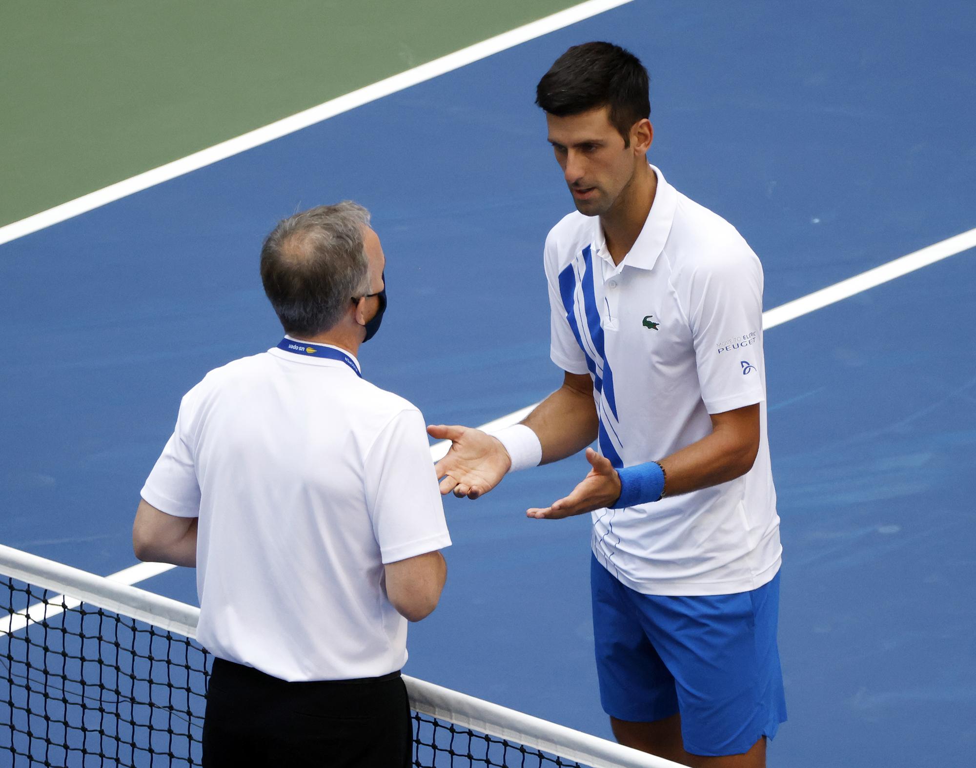 Novak Djokovic Act Of Petulance Turns Genius Into A Vi