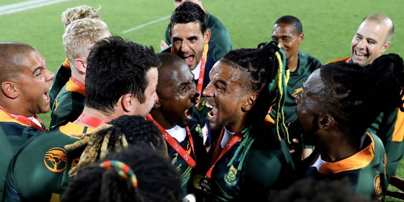 Double Dubai success for South Africa sevens programme