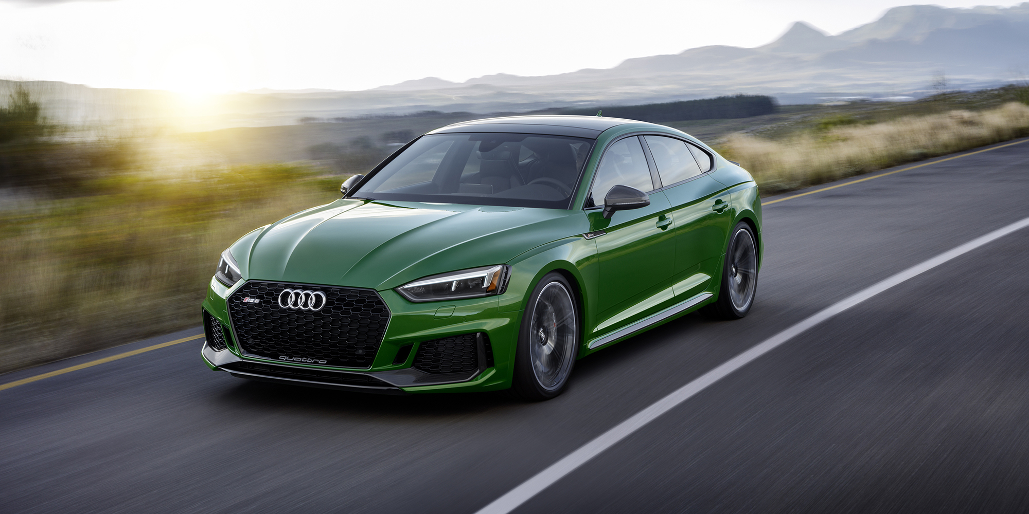Audi RS5 Sportback: Flat-out fastback