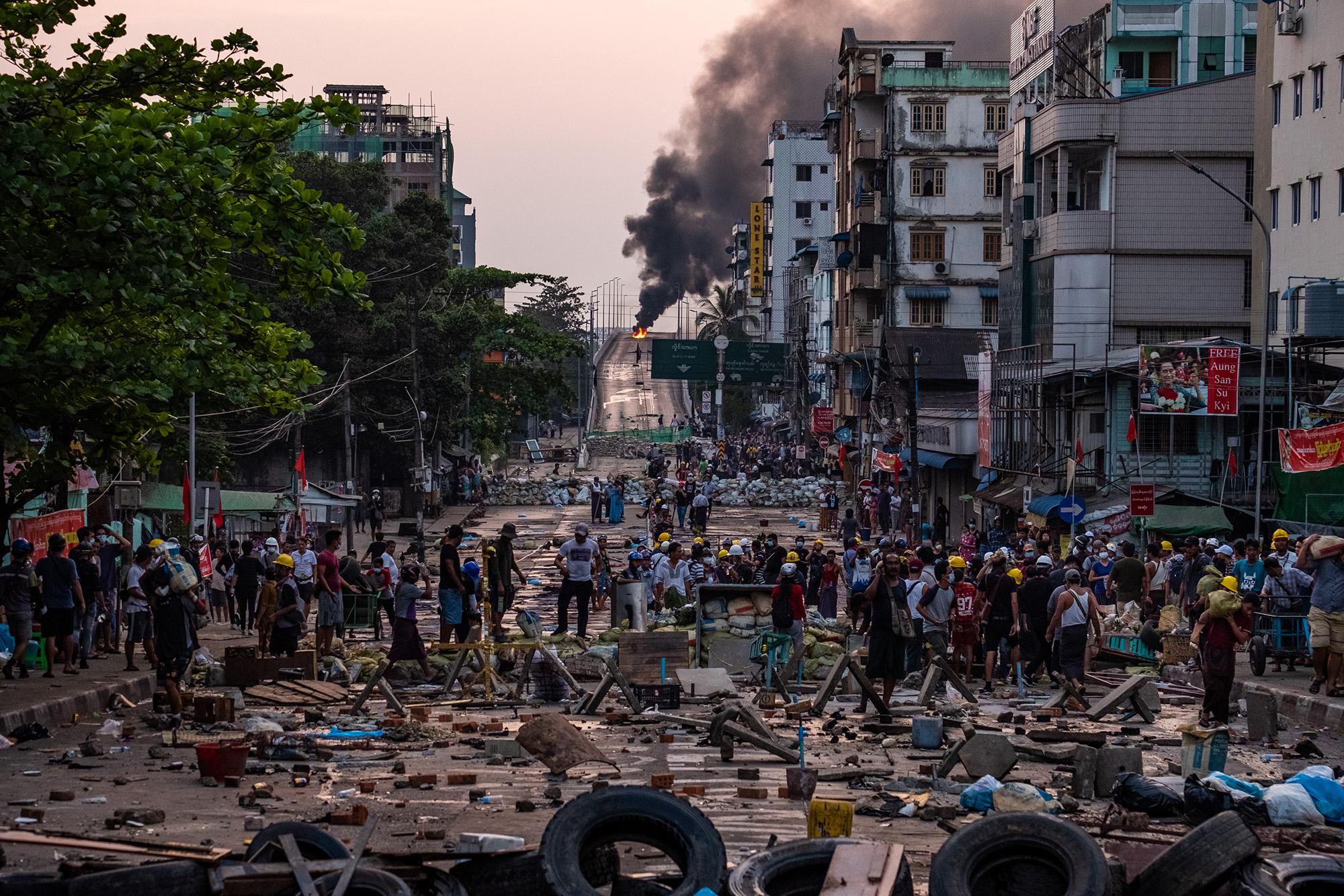 DECLASSIFIED UK: Burma bloodbath is a lesson Britain must learn from