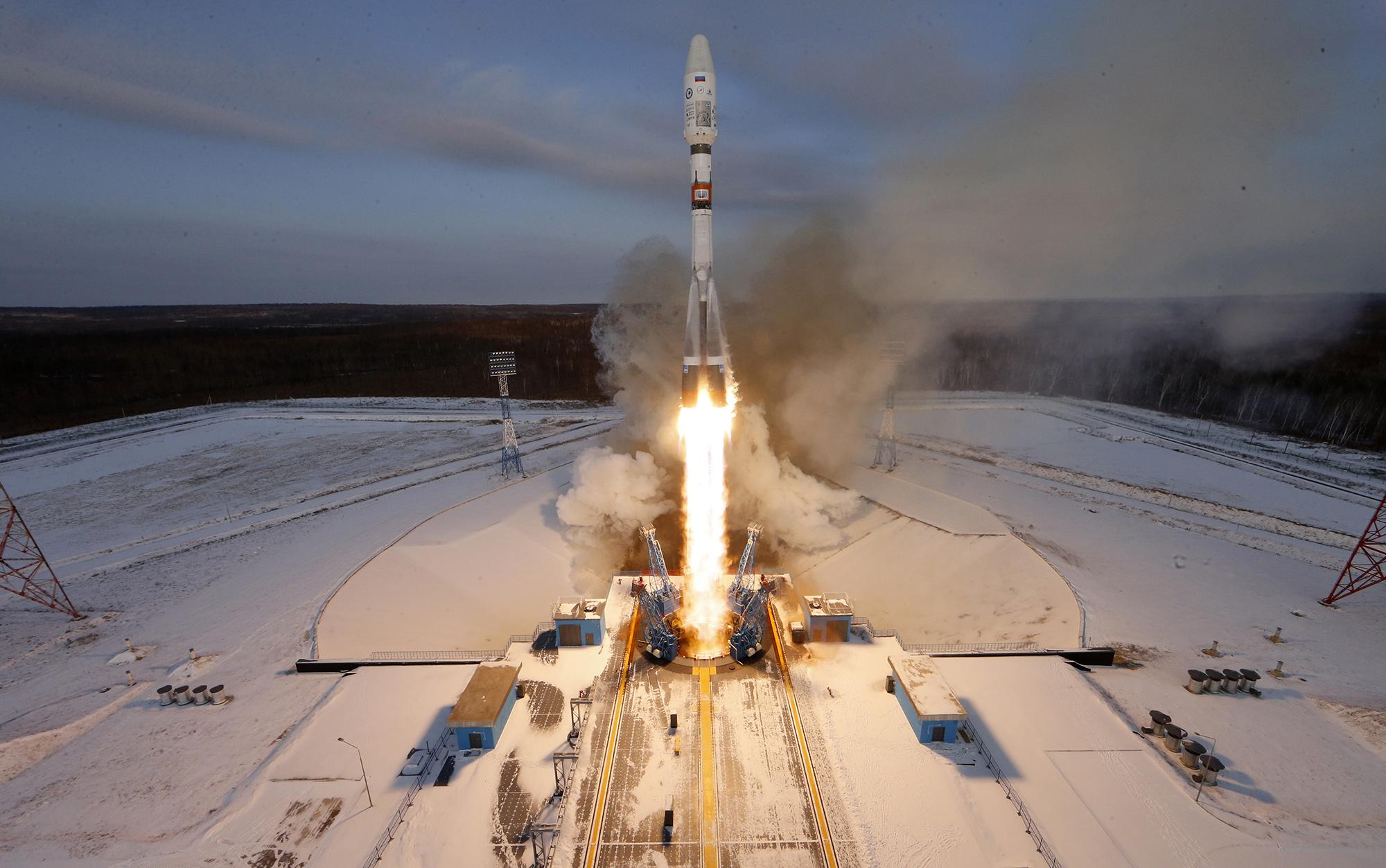 Soyuz 2.1b rockets