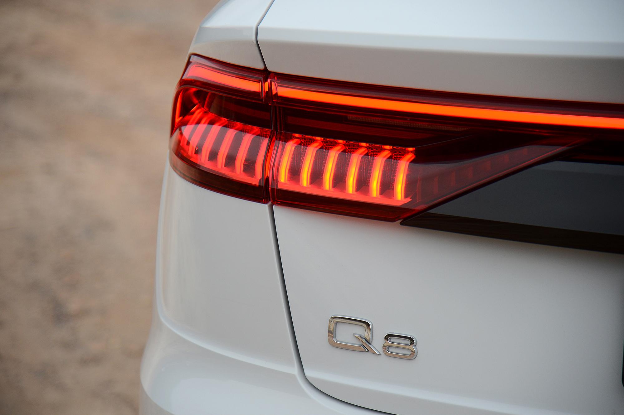 Audi Q8 Setting A New Course