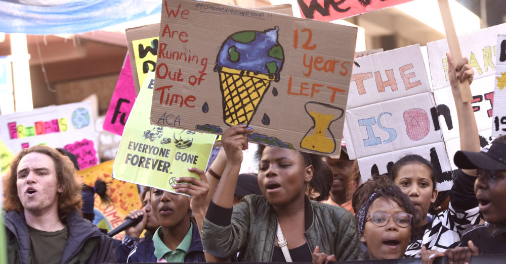 Our Burning Planet Op-Ed: This Youth Day, young people are demanding climate justice