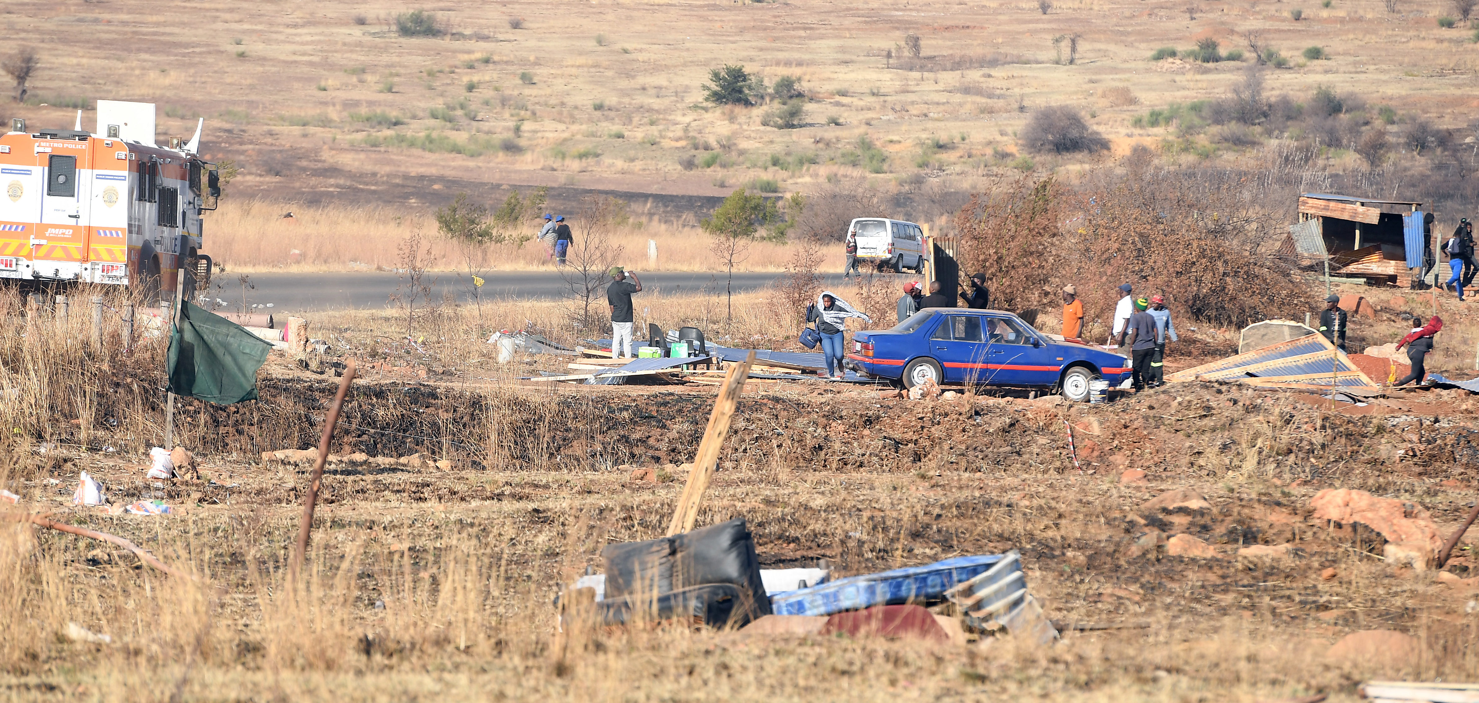 Joburg South land grabs: 'We will go to war,' say residents