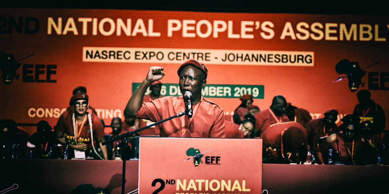 Malema's opening address: A socialist gospel according to the men in red - Daily Maverick