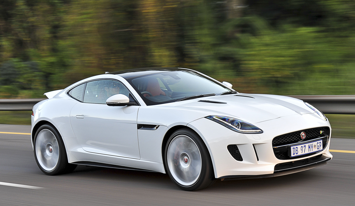 F Type Coupe >> Jaguar F Type Coupe V6 S Leaping Forward