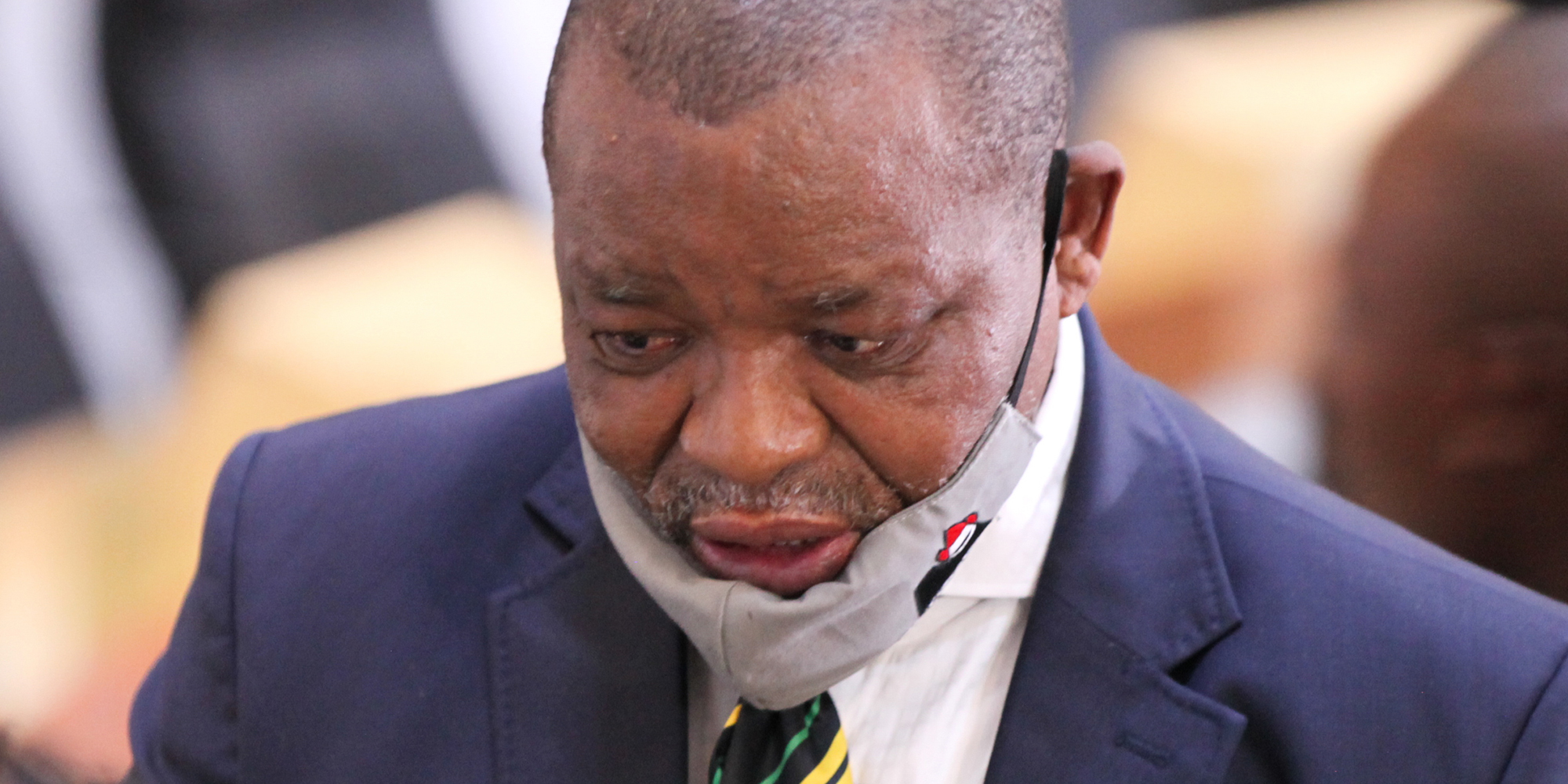 DAYS OF ZONDO: The ANC can remove its president, but Parliament cannot, Mantashe tells State Capture probe