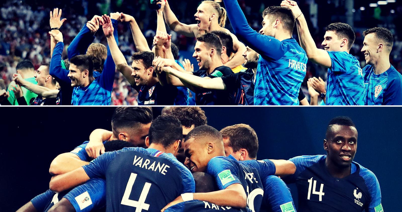 France vs Croatia: Head-to-head, stats and what history